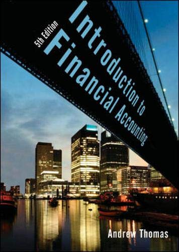 9780077108083: An Introduction to Financial Accounting