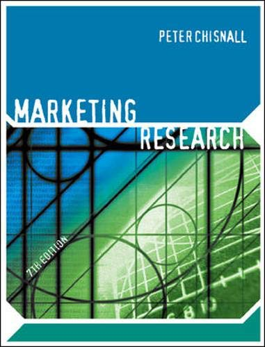 9780077108120: Marketing Research (UK Higher Education Business Marketing)