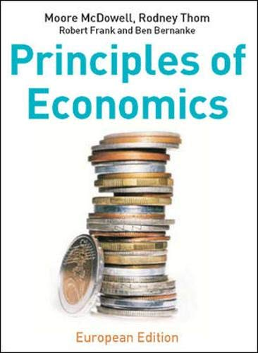 9780077108311: Principles of Economics: European Edition