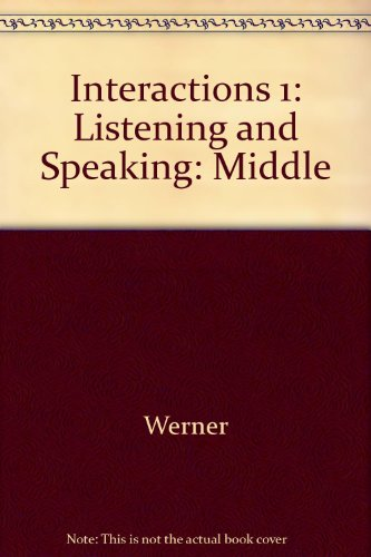 9780077108670: Interactions 1: Listening and Speaking: Middle