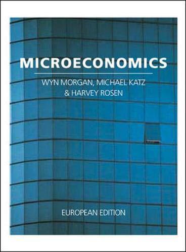 Microeconomics: Wyn Morgan, Michael