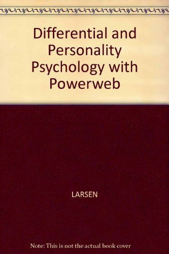 9780077109356: Differential and Personality Psychology with Powerweb