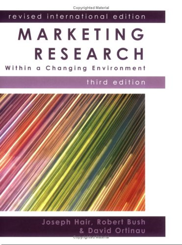 9780077109363: Marketing Research: Within a Changing Information Environment
