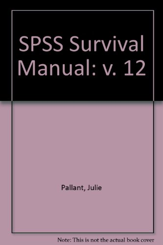 9780077109387: SPSS Survival Manual: v. 12