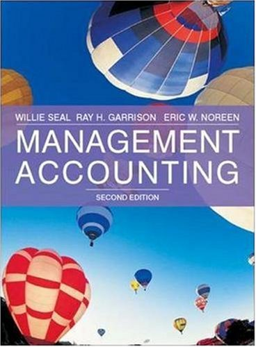 9780077109394: Management Accounting