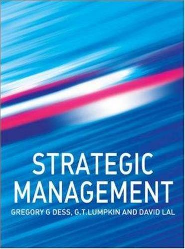 9780077109882: Strategic Management