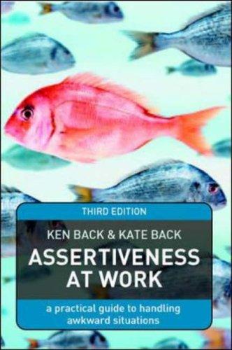 9780077109912: Assertiveness At Work
