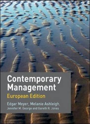 9780077111151: Contemporary Management