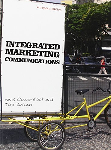 9780077111205: Intergrated Marketing Communications: European Edition