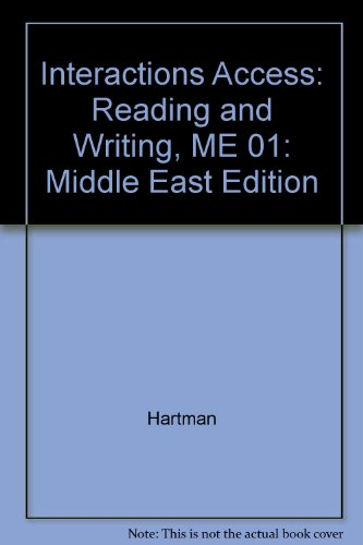 9780077111250: Interactions Access: Middle East Edition: Reading and Writing