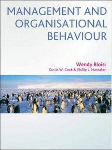 9780077111328: Management and Organisational Behaviour: AND How to Write Good Essays