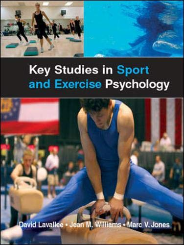 9780077111700: Key Studies in Sport and Exercise Psychology