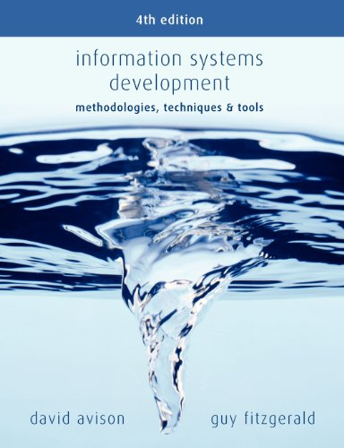 9780077114176: Information Systems Development: Methodologies, Techniques and Tools