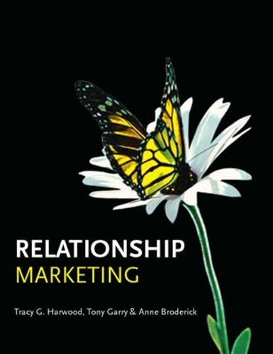 9780077114220: Relationship Marketing (UK Higher Education Business Marketing)