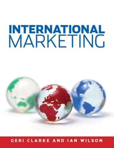 9780077115852: International Marketing