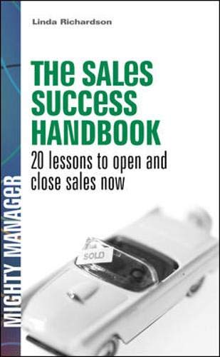 9780077116217: The Sales Success Handbook