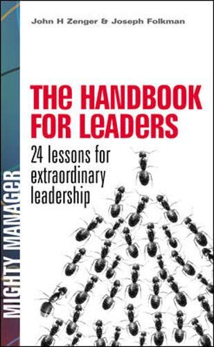 9780077116248: The Handbook for Leaders: 24 Lessons for Extraordinary Leadership