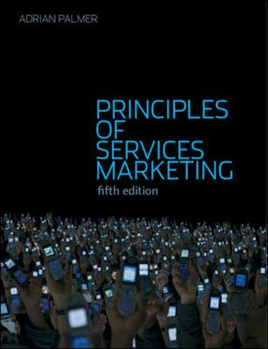 9780077116279: Principles of Services Marketing