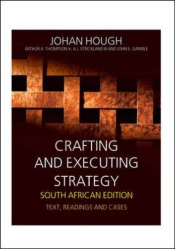 9780077116934: Crafting and Executing Strategy: South African Edition
