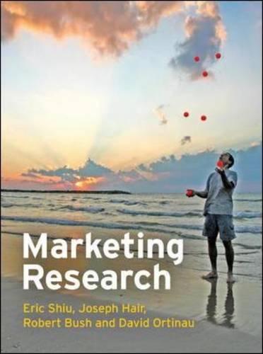 9780077117061: Marketing Research, European Edition