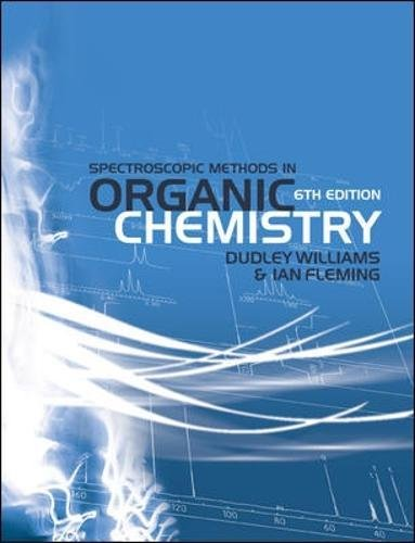 9780077118129: Spectroscopic Methods in Organic Chemistry (UK Higher Education Science & Technology Chemistry)