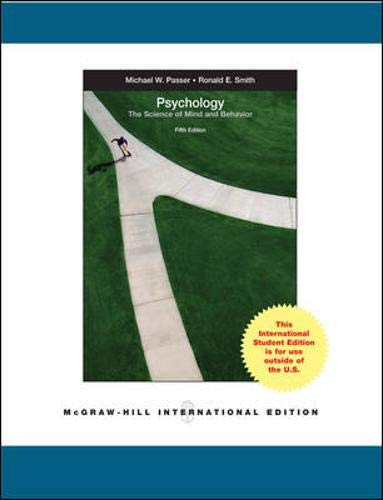 9780077118365: Psychology: The Science of Mind and Behaviour