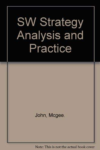 9780077119379: SW Strategy Analysis and Practice