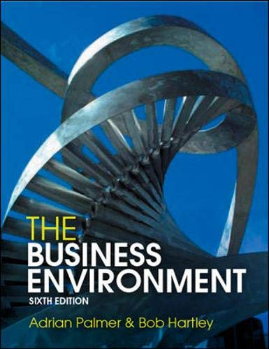 9780077119720: The Business Environment