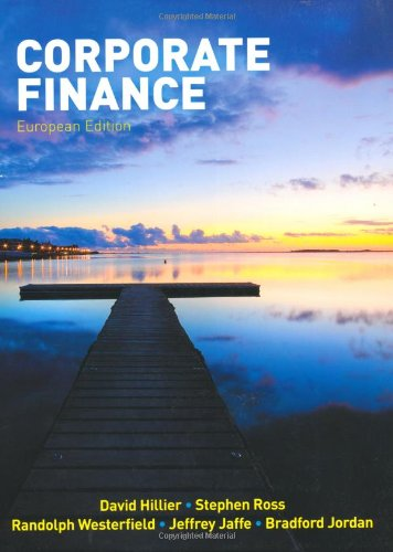 9780077121150: Corporate Finance, European Edition: with Connect Access Code