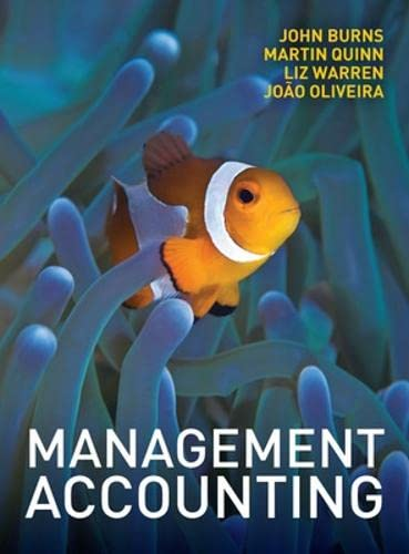9780077121617: Management Accounting (UK Higher Education Business Accounting)