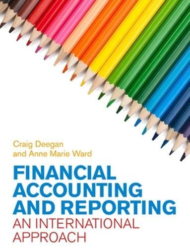 9780077121716: Financial Accounting and Reporting: An International Approach