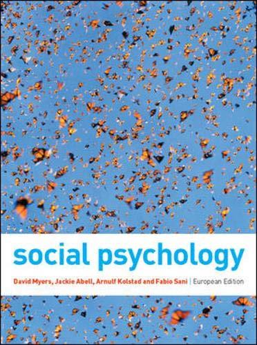 9780077121785: Social Psychology