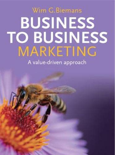 9780077121891: Business to Business Marketing: A Value-Driven Approach