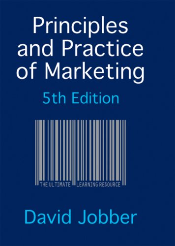 9780077122270: Principles and Practice of Marketing (Redemption Card)