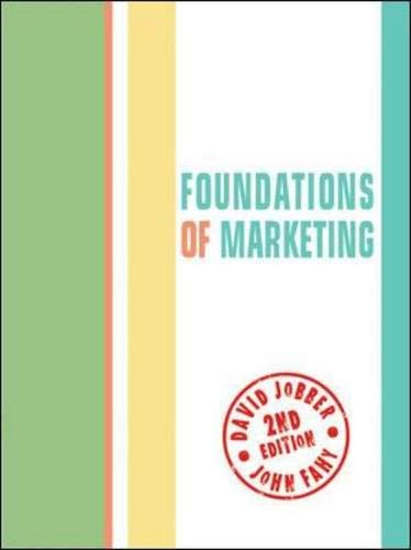 9780077122287: Foundations of Marketing