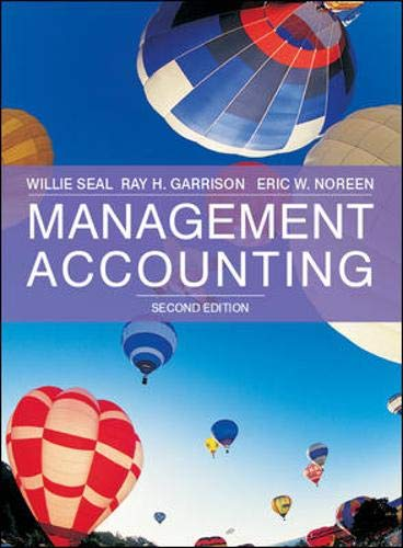 9780077122317: Management Accounting with Redemption card