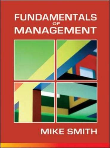 9780077122324: Fundamentals of Management