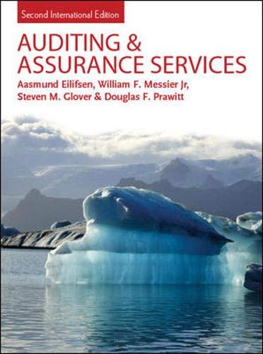 9780077122508: Auditing & Assurance Services: Second International Edition