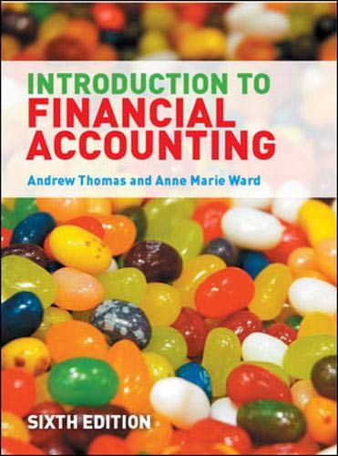 9780077122805: An Introduction to Financial Accounting