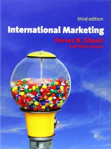 9780077122850: International Marketing