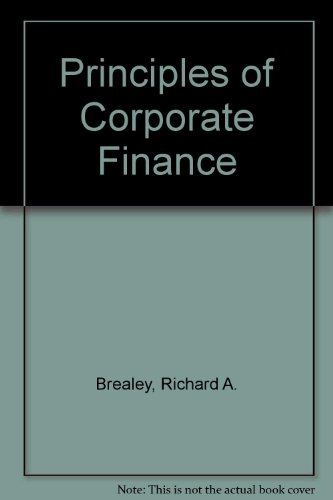 9780077122966: Principles of Corporate Finance