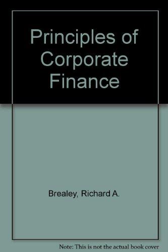 9780077122966: Principles of Corporate Finance