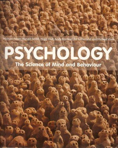 9780077122980: Psychology the Science of Mind & Behavio