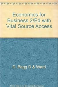 9780077123178: Economics for Business 2/Ed with Vital Source Access