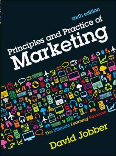 Principles and Practice of Marketing: Jobber, David