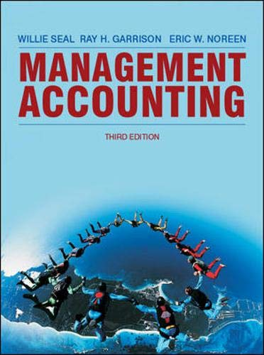9780077124861: Management Accounting