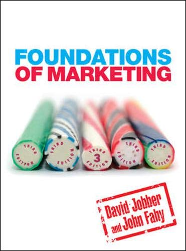 9780077125608: Foundations of Marketing