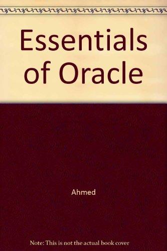 9780077125868: Essentials of Oracle