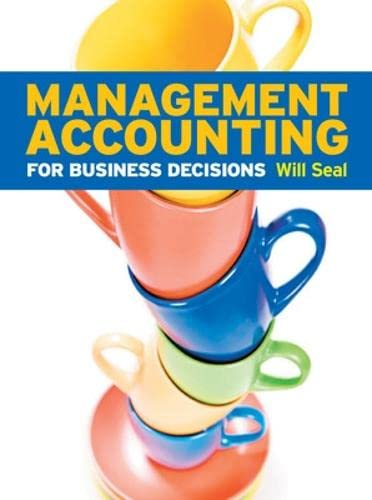 9780077126728: Management Accounting for Business Decisions (UK Higher Education Business Accounting)