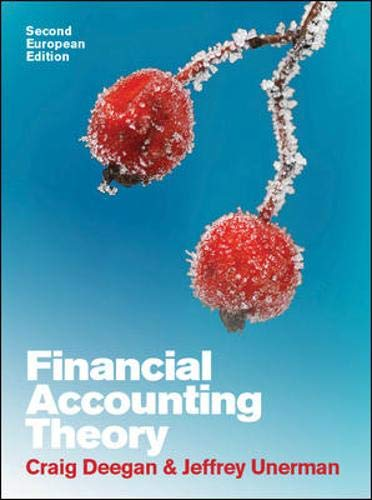 9780077126735: Financial Accounting Theory. (UK Higher Education Business Accounting)